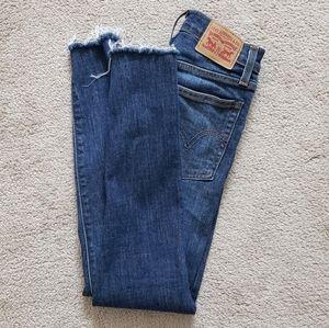 Levi's 501 Wedgie Skinny Vintage Jeans